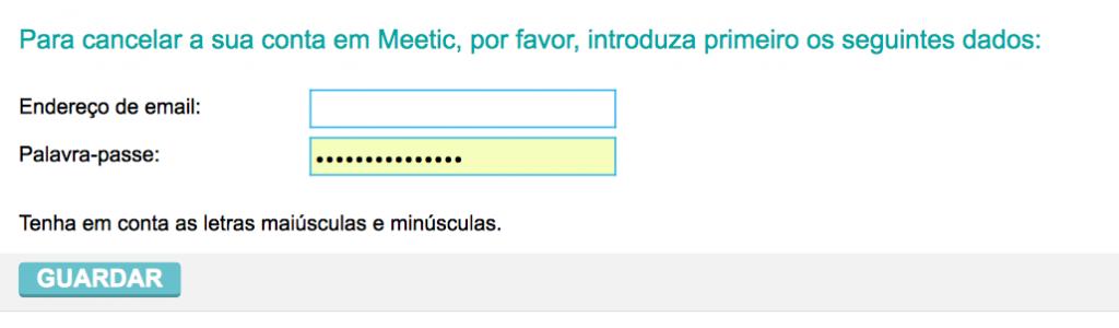 remover deletar apagar eliminar excluir conta perfil do meetic passo 5