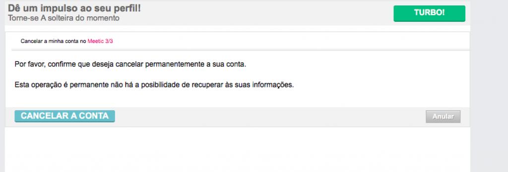 remover deletar apagar eliminar excluir conta perfil do meetic passo 7
