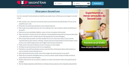 Second Love sexo encontros casual ordinarios sexo com mulher casada avaliação contacto custos reputação comentários experiências apoio au cliente 1