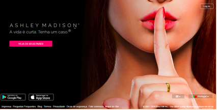 Os 10 melhores sites de relacionamento Portugal numero 5 Ashley Madison